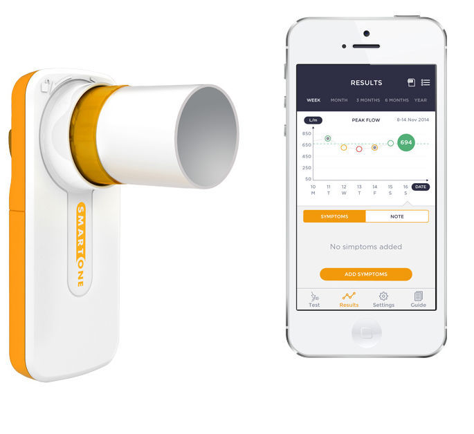 Cystic Fibrosis Patients Given Home Spirometers